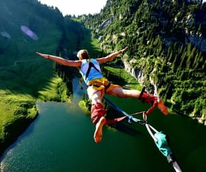 adventure, crazy, and lake image