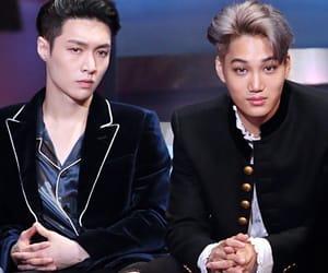 lay, kai, and exo image