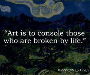 art, quotes, and broken image