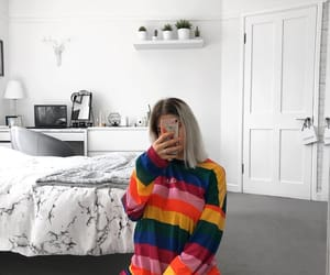 decor, girl, and outfit image