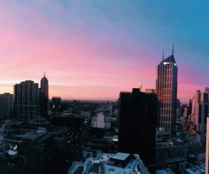city, night, and whi image