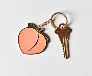 peach, aesthetic, and key image