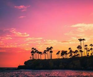 beach, california, and daydream image