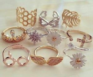 anéis de ouro-prata-rose image