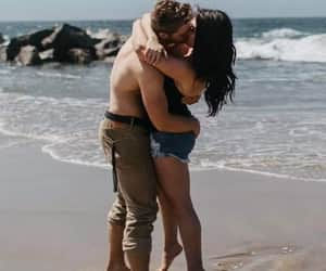 amor, kisses, and lovers image