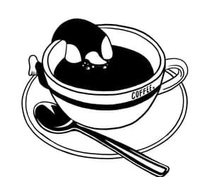 coffee, peace, and love image