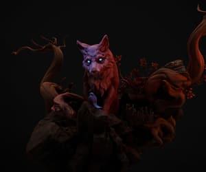 art, fox, and magic image