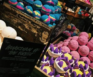 aesthetic, bath bombs, and colourful image