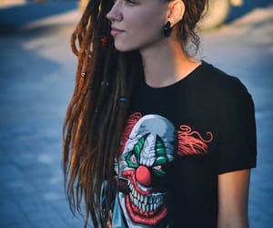 dreadlocks, dreads, and punk image