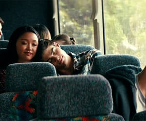 books, couple, and lana condor image