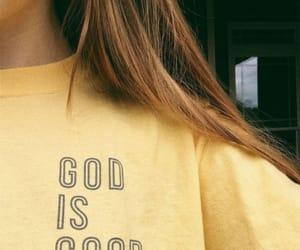 god and yellow image
