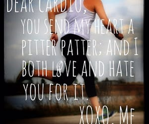 fitness, lake, and runner image