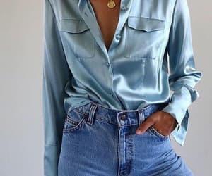 style, fashion, and blue image