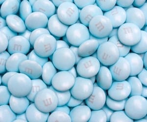 blue, candy, and sweet image