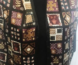 eco friendly, fall winter, and vintage scarf image