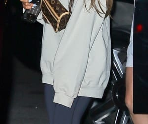 Ariana out in NYC last night