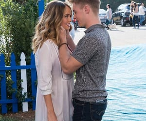 insatiable, debby ryan, and michael provost image