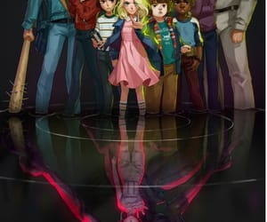 stranger things, eleven, and mike image