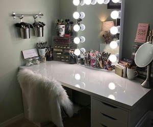 makeup, room, and light image