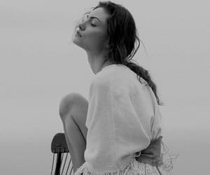 phoebe tonkin, The Originals, and black and white image