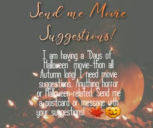 autumn, fall, and horror image