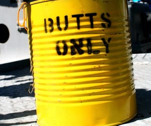 barrel, butts, and words image