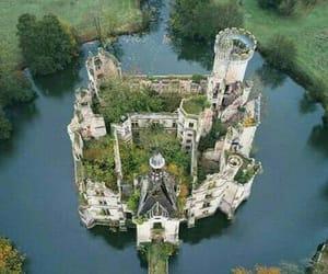 castillo, francia, and foso image