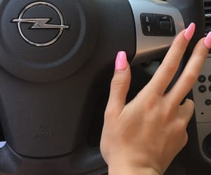 car, daylight, and hands image
