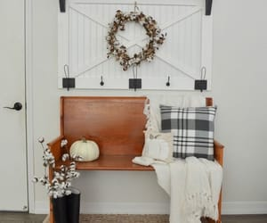 autumn, blanket, and cotton image