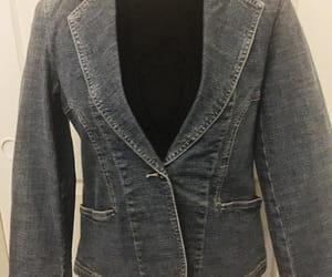 etsy, vintage denim jacket, and lunasvintagedesigns image