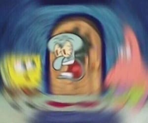 angry, funny, and patrick image