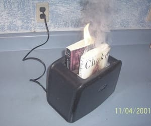 books, burn, and meme image