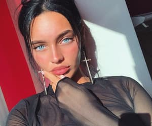 beauty, blue eyes, and girl image