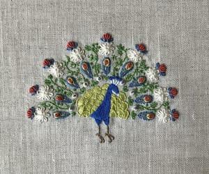 embroidery, handmade, and needlework image