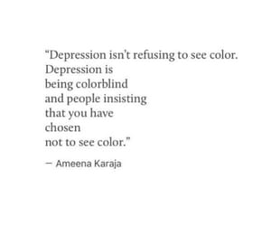 depressed, hurt, and quote image