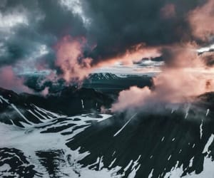 beautiful, clouds, and mountain image