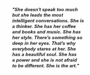 quotes, art, and she image