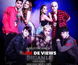 becky g, leslie grace, and cnco image