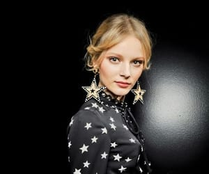 blog, blonde, and fashion image
