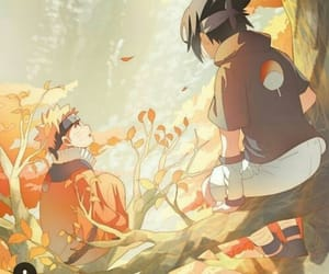 anime, sasuke, and dibujos image