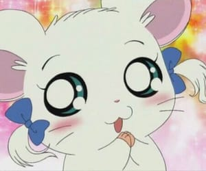 anime, cartoon, and hamtaro image