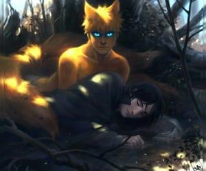 anime, sasuke, and arte image