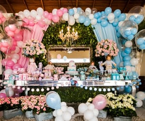 decoration, party, and baby shower image
