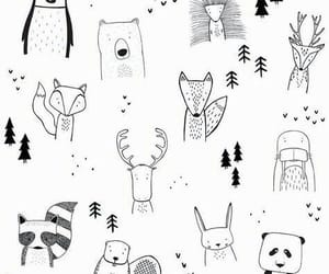 animals, draw drawing, and art artwork image