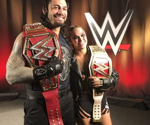 wwe, the shield, and ronda rousey image