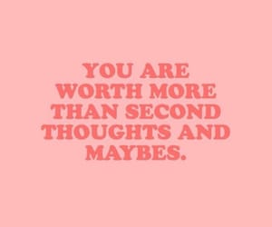 quotes, words, and pink image