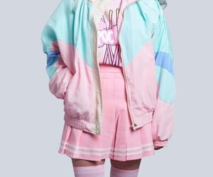 fashion, outfit, and pastel goth image