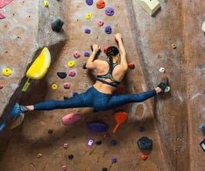 amazing, climbing, and fit image