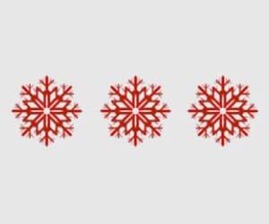 christmas, header, and snowflakes image