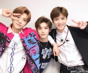 jaemin, taeyong, and nct image